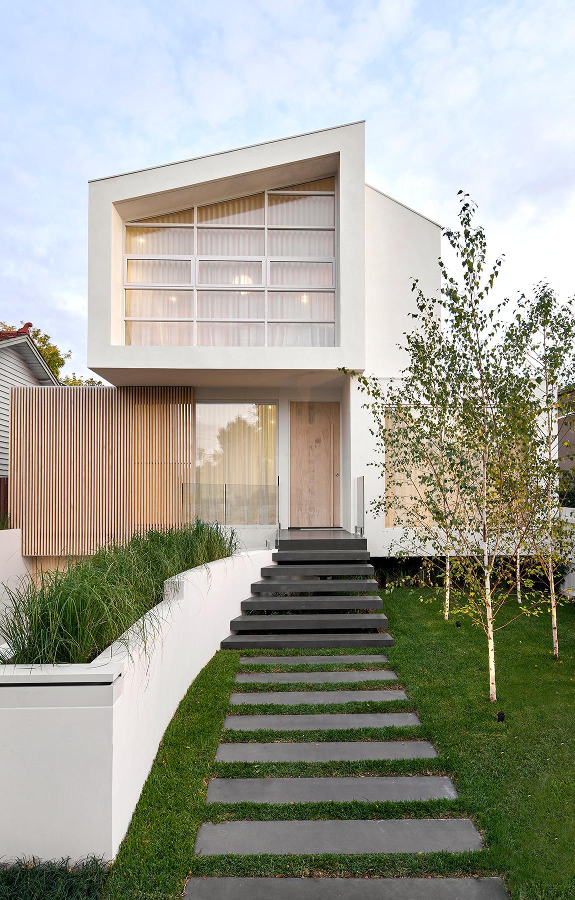 ck architects kellet street house exterior image front 3