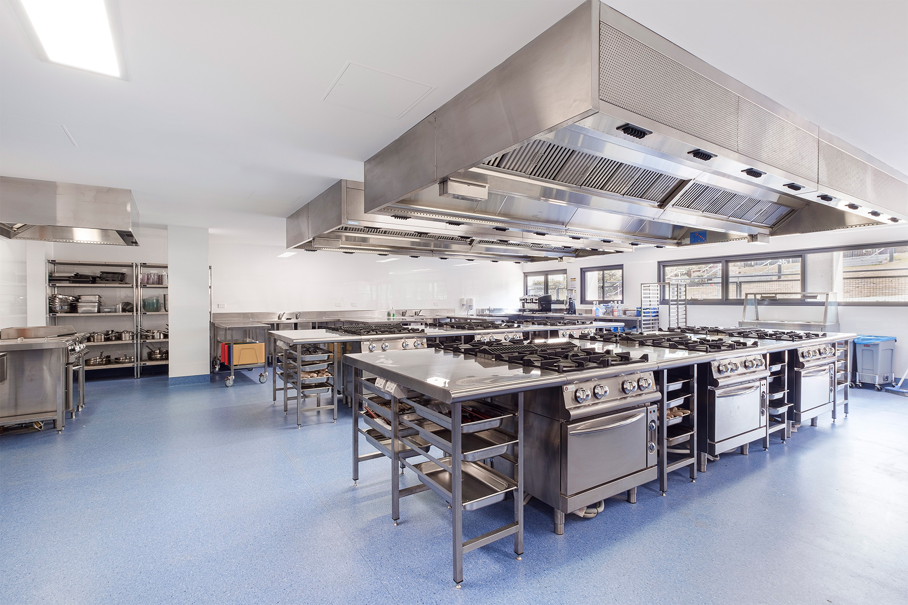 ck architects st leos college commercial kitchen