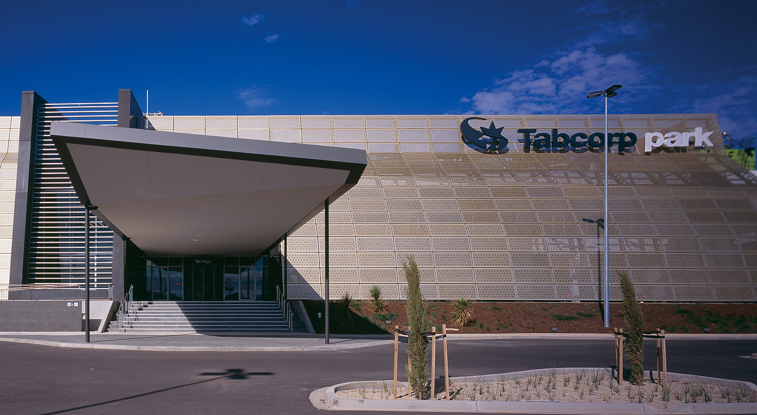 example of C.Kairouz completed commercial architecture project tabcorp park