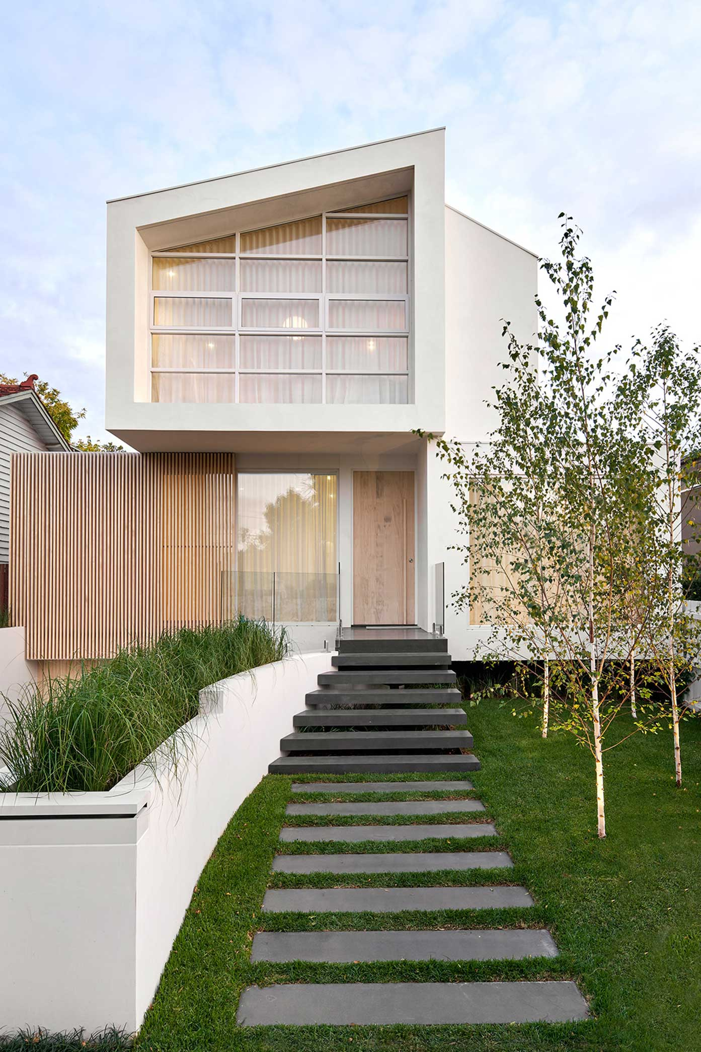 ck architects kellet street house exterior image front 3