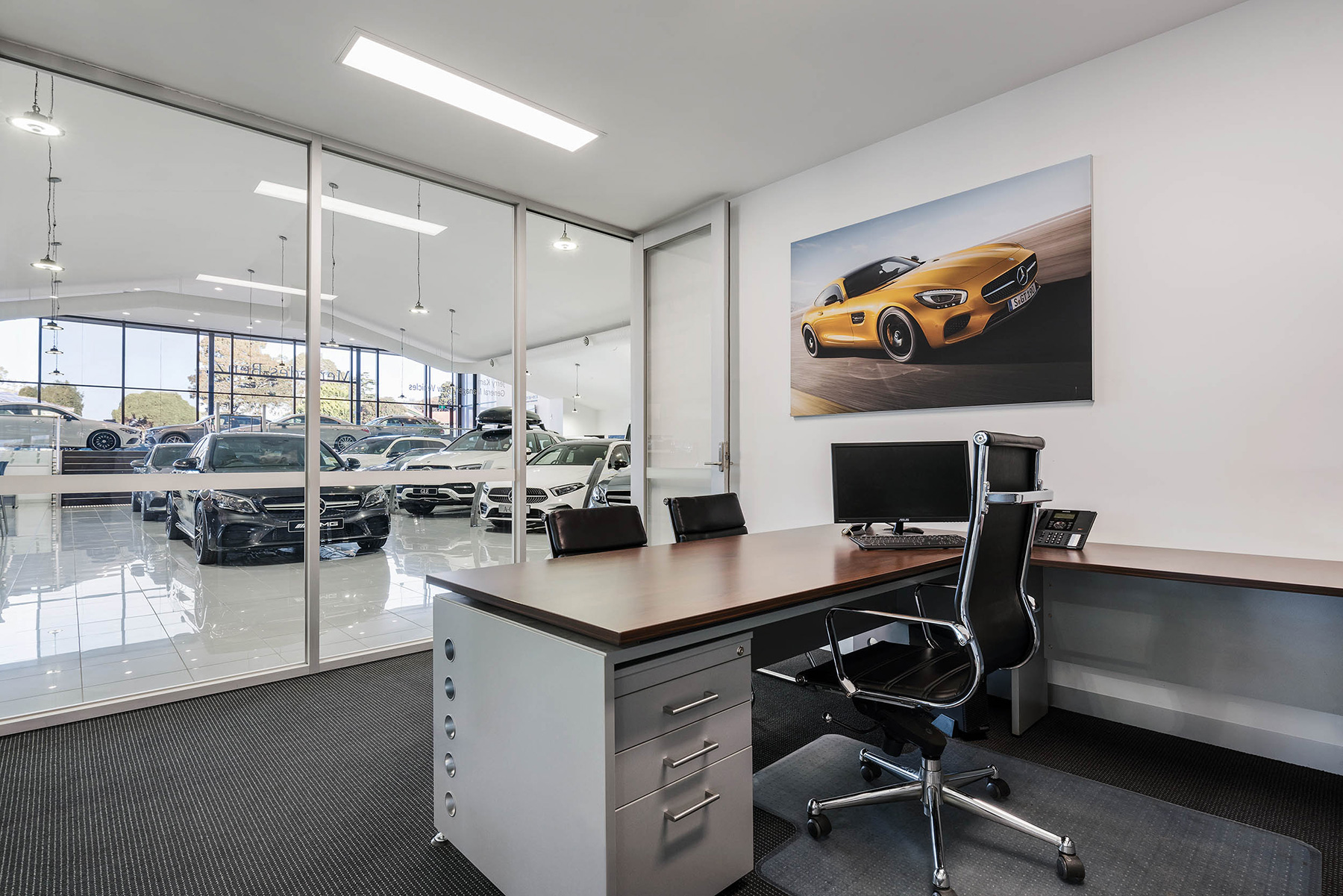 c. kairouz architects commercial architecture interior design for car dealership office