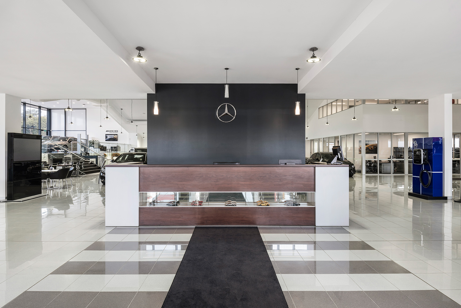 c. kairouz architects commercial architecture interior design for car dealership