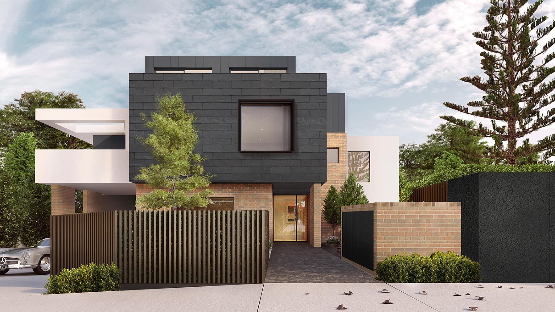 multi-residential development render