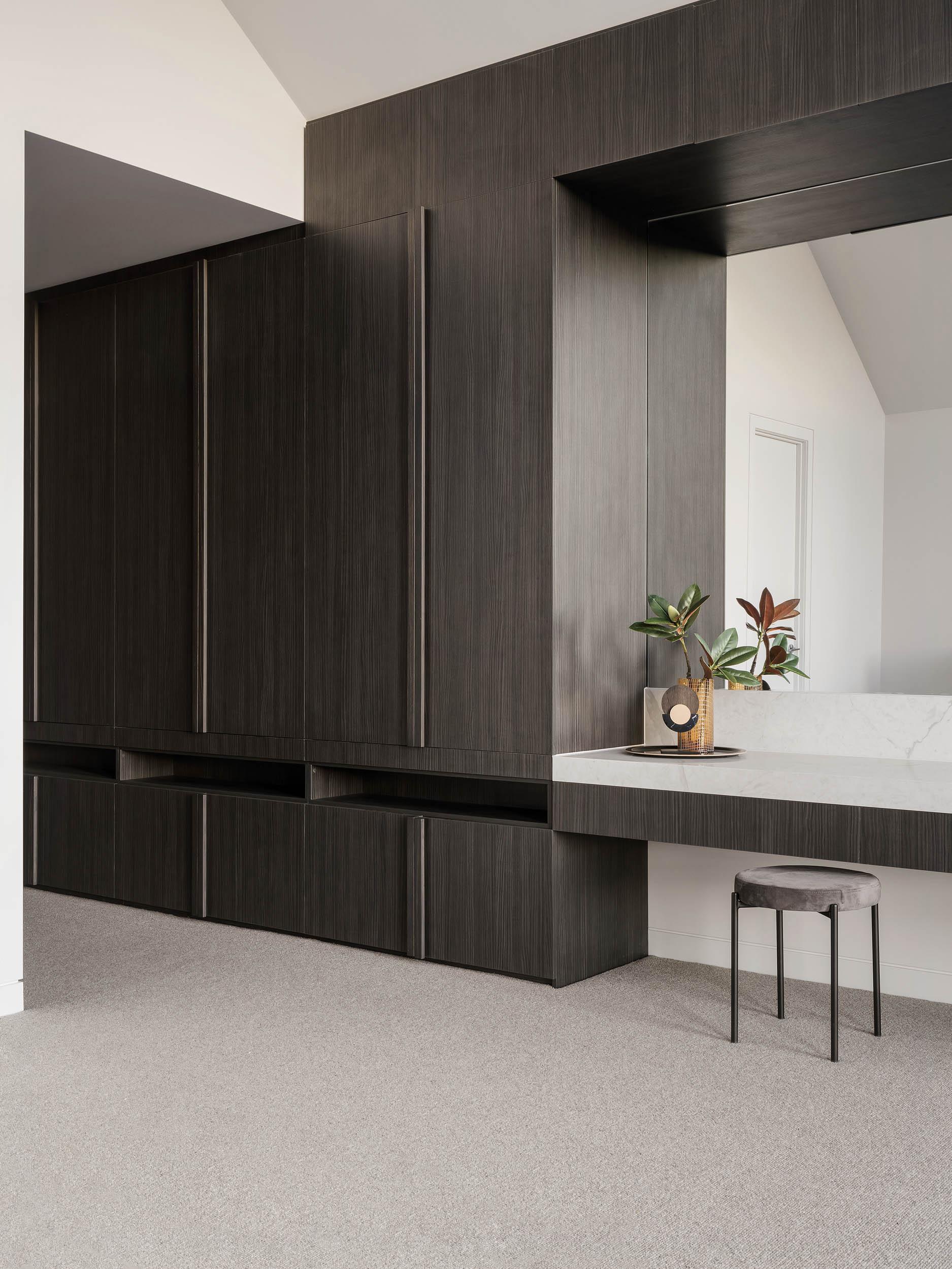 c.kairouz architects fairfield townhouse architectural interior cabinetry