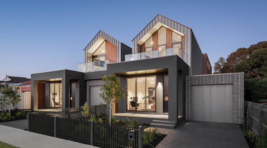 c. kairouz architects townhouse design in melbourne