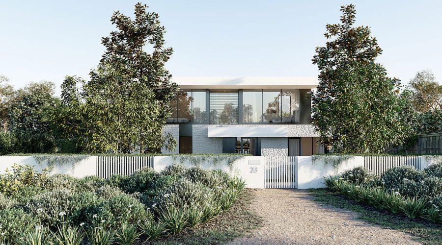 beach house design by architects mornington peninsula